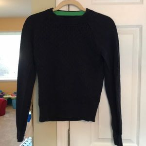 C. Wonder classic cable knit sweater